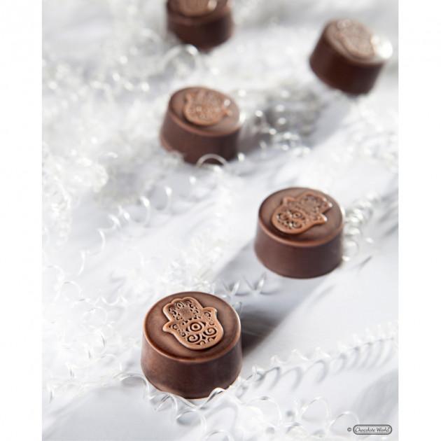 Bonbon Chocolat Main de Fatma Chocolate World