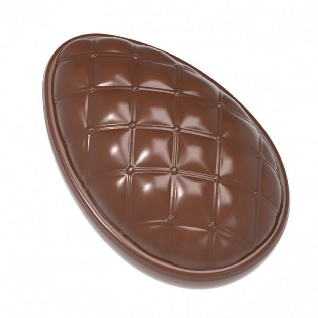 Moule Chocolat Oeuf Matelasse 86.5 mm (x6) Chocolate World