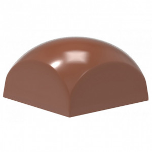 Moule Chocolat Carré Bombé 25,5 mm (x24) Chocolate World