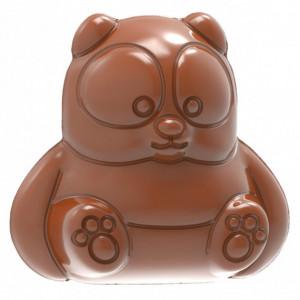 Moule Chocolat Panda 3,6 cm (x18) Chocolat World