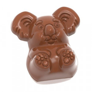 Moule Chocolat Koala 37 mm (x18) Chocolate World