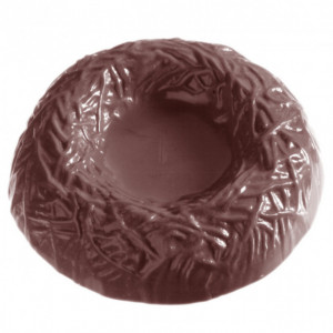Moule Chocolat Nid Ø6 cm (x8) Chocolate World