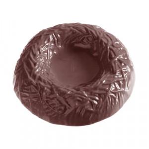 Moule Chocolat Nid Ø8,5 cm (x3) Chocolate World