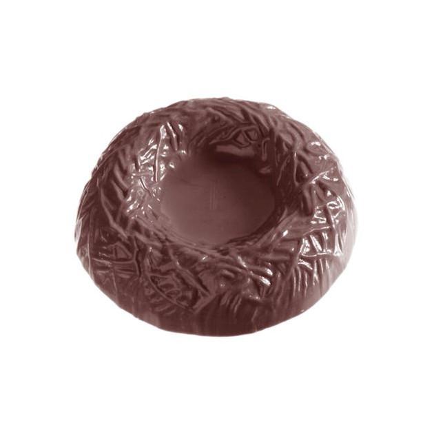 Moule Chocolat Nid Ø8.5 cm (x3) Chocolate World