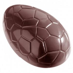 Moule Chocolat Oeuf Craquelé 5.7 cm (x12) Chocolate World