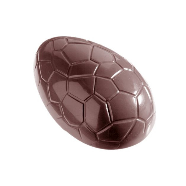 Moule Chocolat Oeuf Craquele 80 mm (x6) Chocolate World