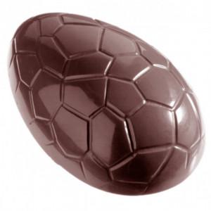 Moule Chocolat Oeuf Craquelé 11,7 cm (x3) Chocolate World