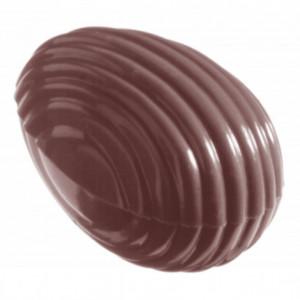 Moule Chocolat Oeuf Rayé 3.2 cm (x32) Chocolate World