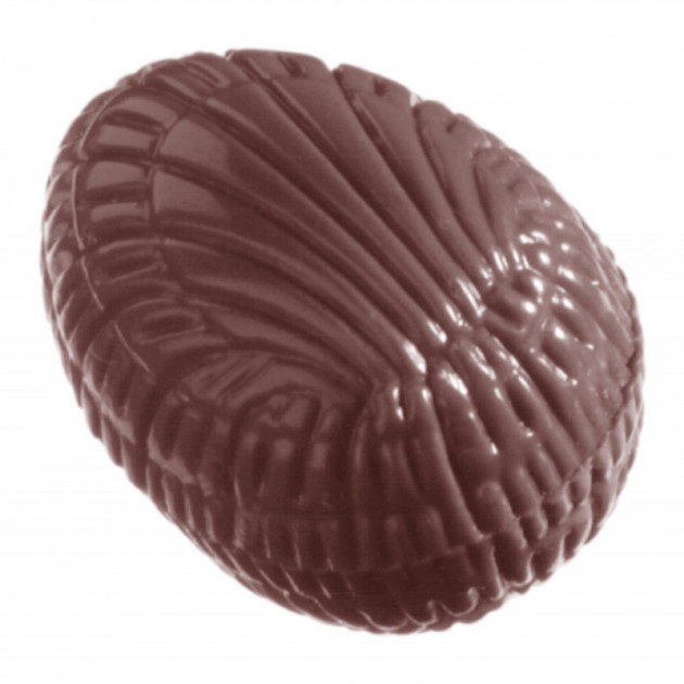 Moule Chocolat Oeuf Strie 3.3 cm (x32) Chocolate World
