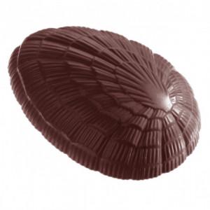 Moule Chocolat Oeuf Strié 11,8 cm (x3) Chocolate World