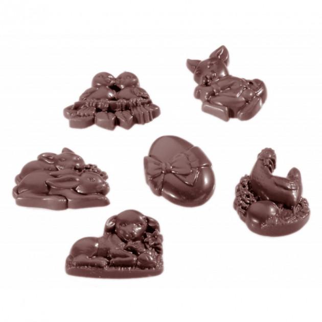 Moule Chocolat Friture de Paques 4.5 cm (x18) Chocolate World