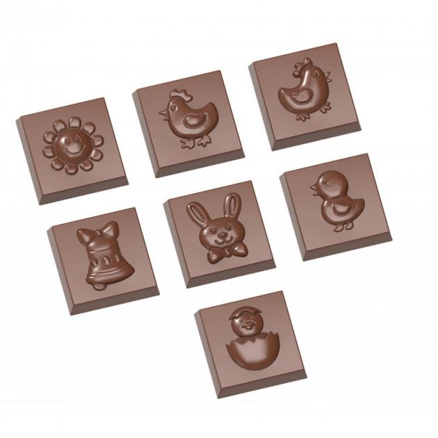 Moule Chocolat Friture de Paques 3.1 cm (x21) Chocolate World