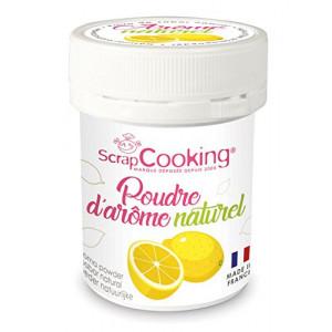 Arôme Naturel en Poudre Citron 15 g Scrapcooking