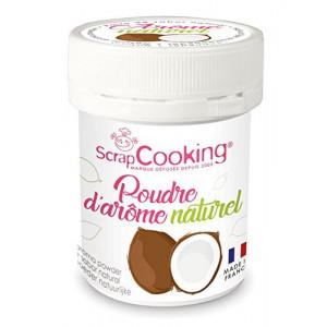 Arôme Naturel en Poudre Noix de Coco 15 g Scrapcooking