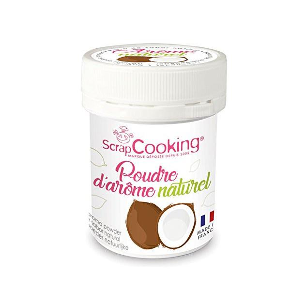 Arome Naturel en Poudre Noix de Coco 15 g Scrapcooking