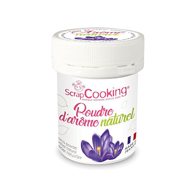 Arome Naturel en Poudre Violette 15 g Scrapcooking