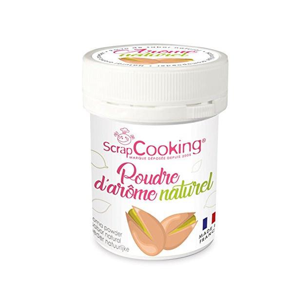 Arome Naturel en Poudre Pistache 15 g Scrapcooking