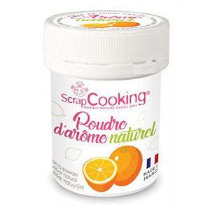 Arôme Naturel en Poudre Orange 15 g Scrapcooking