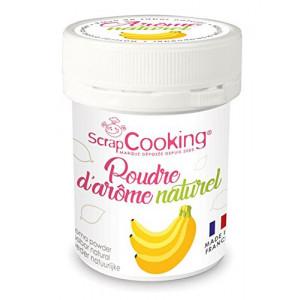 Arôme Naturel en Poudre Banane 15 g Scrapcooking