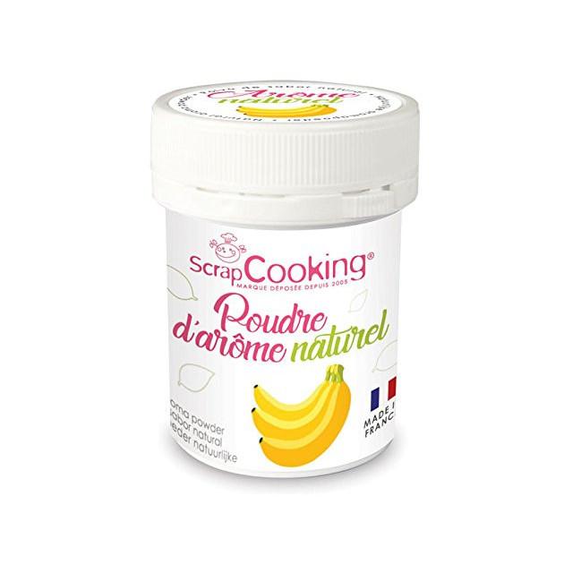 Arome Naturel en Poudre Banane 15 g Scrapcooking