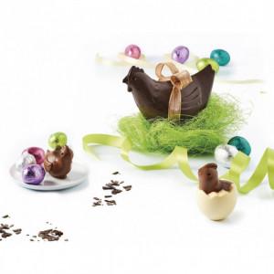 Moule Chocolat Poule et Poussins (x6) Mastrad