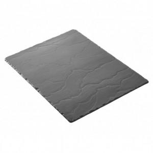 Plateau Rectangulaire Ardoise 40 x 30 cm Basalt Revol