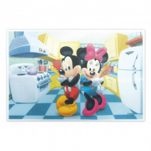 Rectangle Azyme Mickey et Minnie 30 x 20 cm Scrapcooking