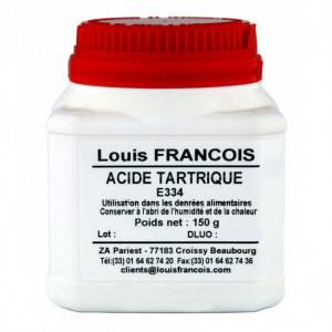 Acide Tartrique E334 150 g Louis François