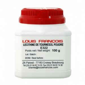 Lécithine de Tournesol  E322 en poudre 100 g Louis François