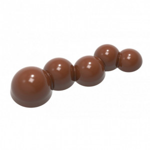 Moule Chocolat 5 Billes (x7) Chocolate World