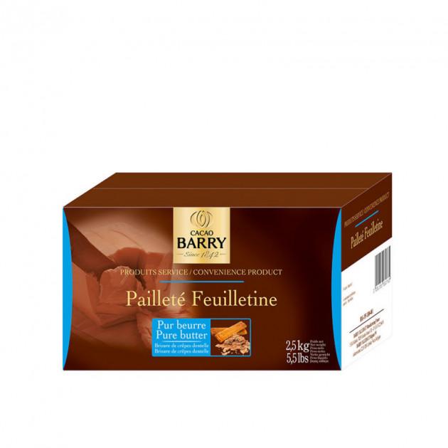 Paillete Feuilletine 2.5 kg pur beurre barry