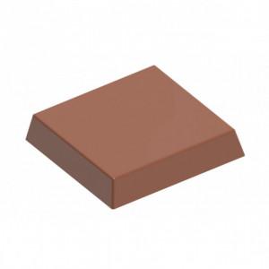 Moule Chocolat Carrés 30x30 mm (x21) Chocolate World