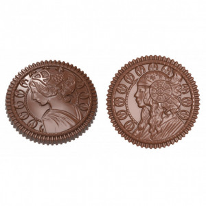 Moule Chocolat Pièce 2 Faces (x10) Chocolate World