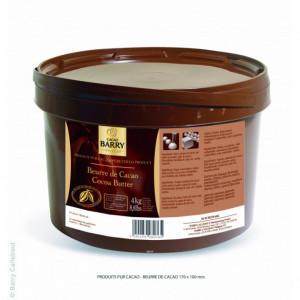 Beurre de Cacao 4 kg Barry