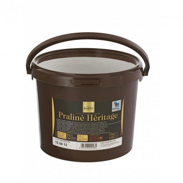 Praline Heritage 5 kg Barry avec Morceaux d'Amandes et Noisettes