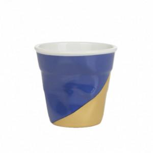 FIN DE SERIE Gobelet Froissé Twist Blue Up 8cl Revol