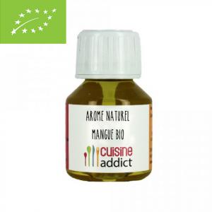 Arôme Alimentaire Bio Mangue 58 ml Cuisineaddict