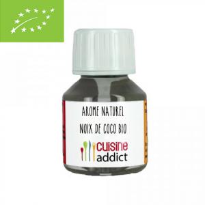 Arôme Alimentaire Bio Noix de Coco 58 ml Cuisineaddict