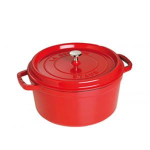 STAUB Cocotte Fonte Ronde 18 cm Rouge Cerise 1,7 L