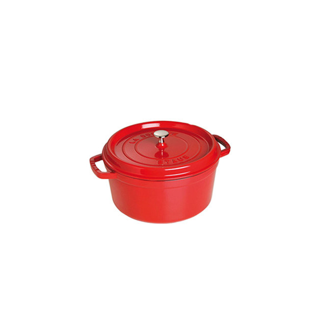 STAUB Cocotte Fonte Ronde 18 cm Rouge Cerise 1.7 L