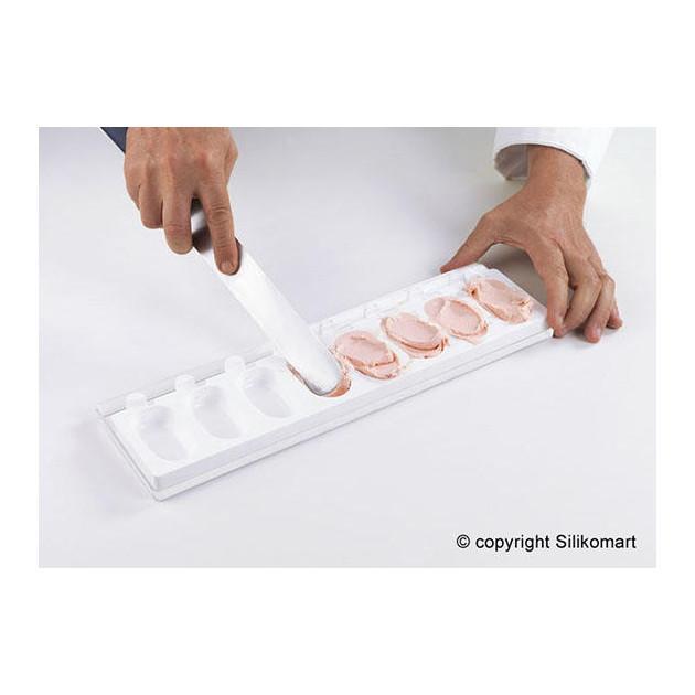Mode d'Emploi Moule a Glace: Appliquer la glace dans le Moule a glace silicone
