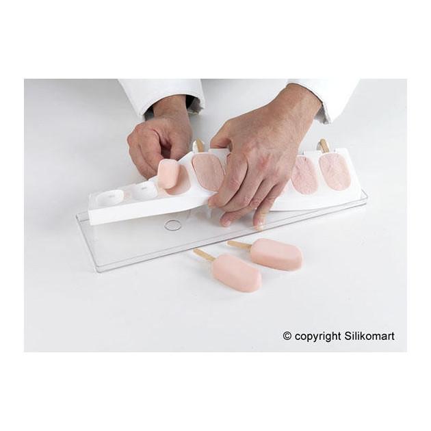 Mode d'Emploi Moule a Glace: Demouler les batonnets glaces