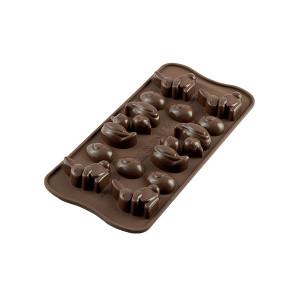 Moule à Chocolat 14 Sujets de Pâques Easy Choc - Silicone Spécial Chocolat
