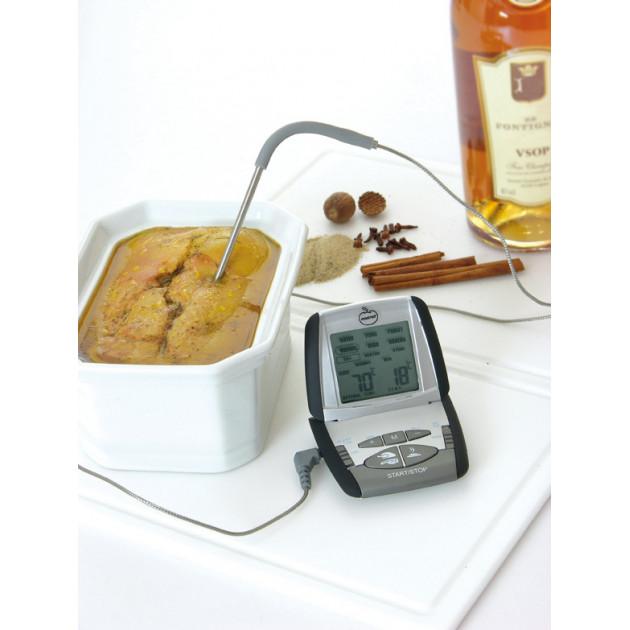 Foie gras fondant assure grace au Thermometre de cuisson Mastrad