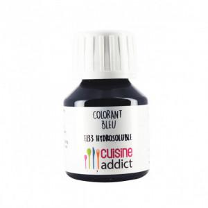 Colorant Alimentaire Bleu E133 Liquide 58 ml Cuisineaddict