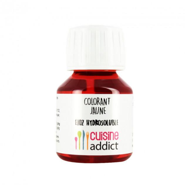 Colorant Alimentaire Jaune Citron E102 Liquide 58 ml Cuisineaddict