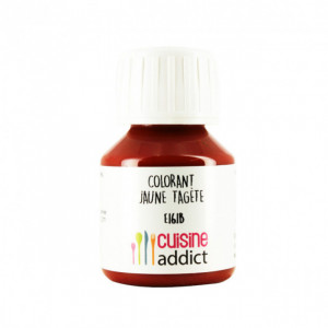 Colorant Alimentaire Naturel Jaune d'Oeuf Tagète E161b Liquide 58 ml Cuisineaddict