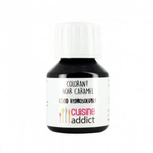 Colorant Alimentaire Noir Caramel E150d Liquide 58 ml Cuisineaddict