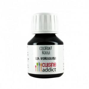 Colorant Alimentaire Rouge Fraise E124 Liquide 58 ml Cuisineaddict