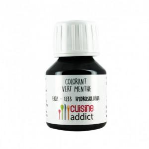Colorant Alimentaire Vert Menthe E102/E133 Liquide 58 ml Cuisineaddict